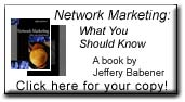 New Book: Network Marketing: What You Should Know