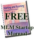 FREE Manual to qualifying executives of MLM Startup companies.