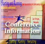 The MLM Startup Conference: Starting and Running the Successful MLM Company